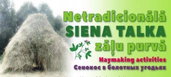 29. jūlijā sākam siena talku sezonu Ķemeru Nacionālajā parkā!