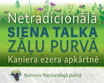 Ķemeru Nacionālais parks aicina uz siena talku  zāļu purvā