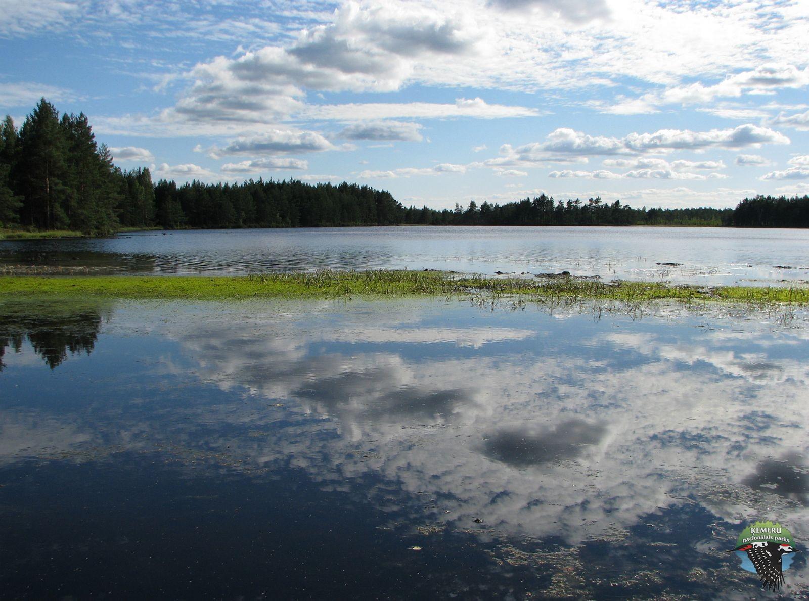 Akača ezers Ķemeru nacionālajā parkā. Foto: Agnese Priede