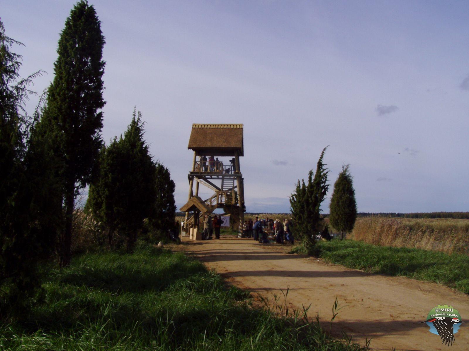 CEMEX putnu tornis. Foto: Ilze Vanaga