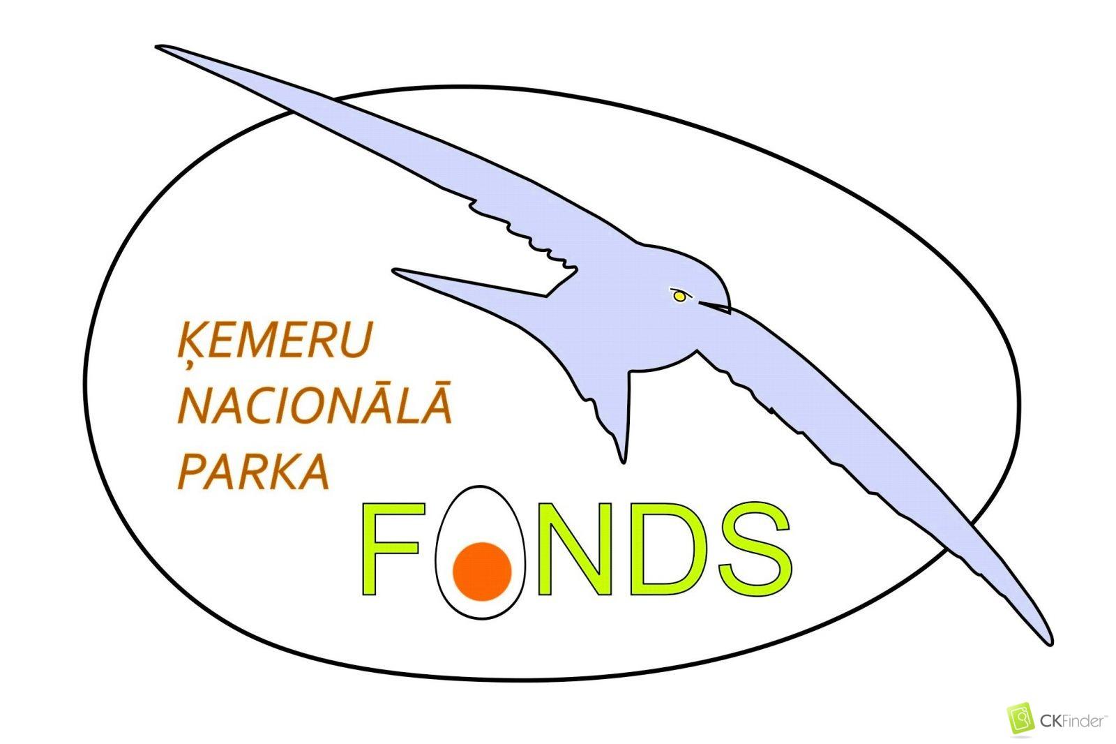 Ķemeru nacionālā parka fonda logo