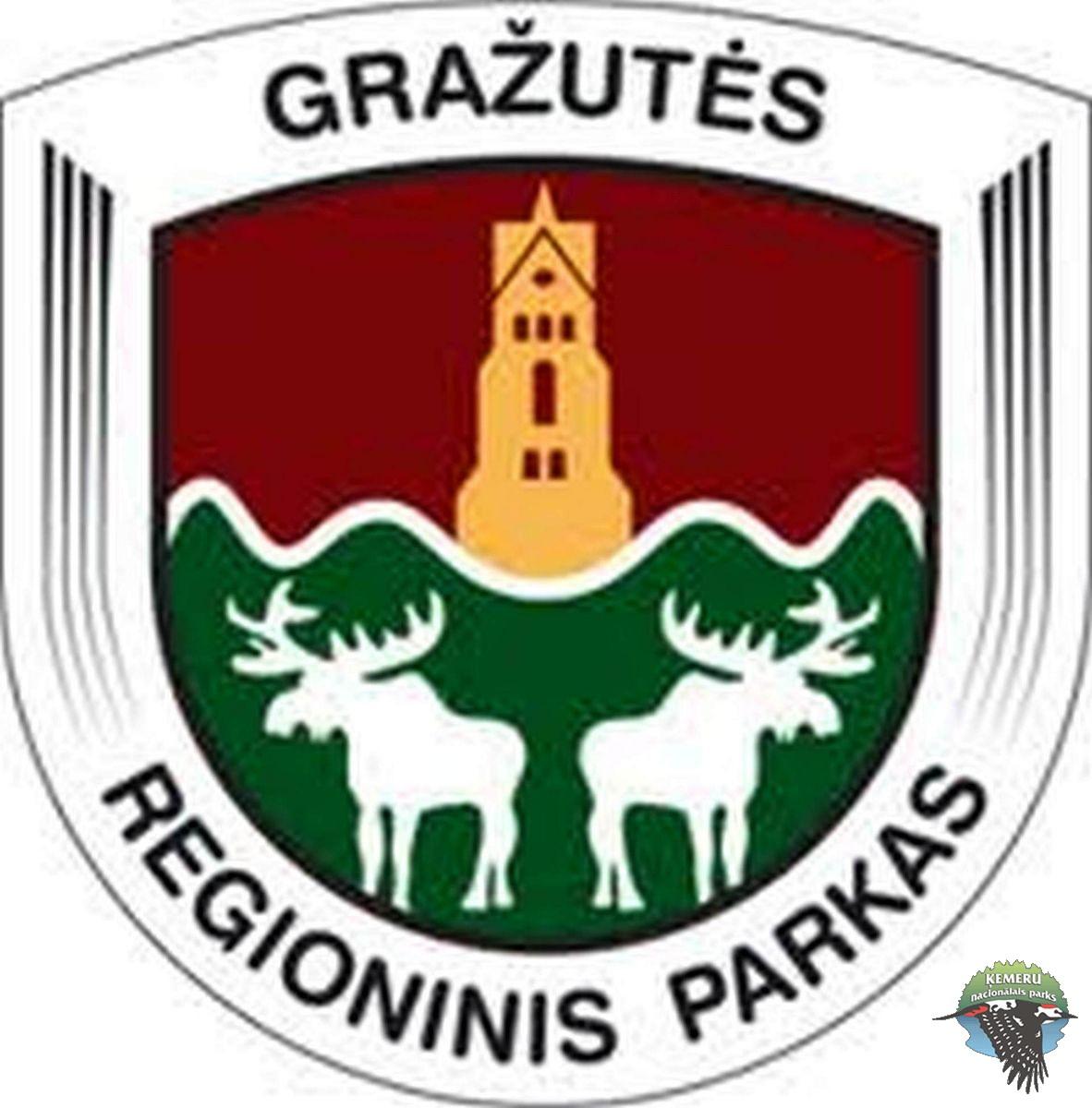 Gražutes reģionālā parka (Lietuva) logo